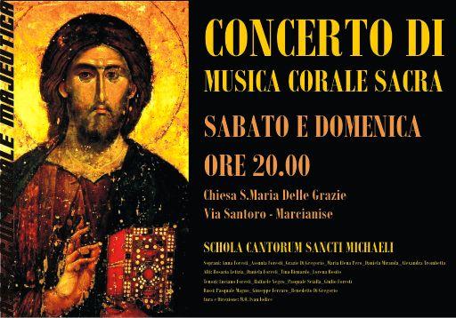 Concerto di Musica Corale Sacra 2006